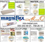 Безпружинные ортопедические матрасы в вакуумной упаковке Magniflex (Ма