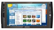 Планшет Archos 9: сенсорный 9 дюймов экран,  Intel Atom и Windows 7