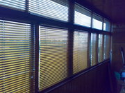 Горизонтальные жалюзи салон штор моне 74