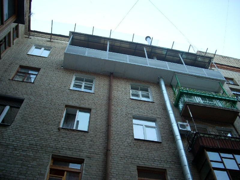 Строительство и реконструкция балконов. под ключ. харьков. -.