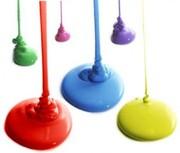 Боди-арт краски,  светящиеся в ультрафиолете