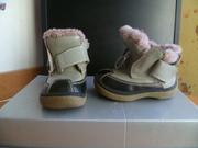 Ботиночки зимние 20р,  туфельки на девочку 32р