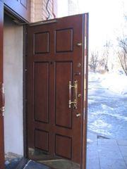 Двери входные металлические.