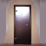 Стеклянная дверь для бани,  сауны
