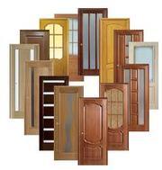 Двери межкомнатные  МДФ,  шпонированные,  сосна,  дуб.