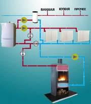 монтаж и расчет систем отопления,  водоснабжения и канализации
