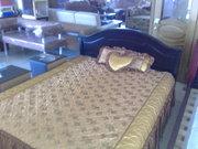Спальные гарнитуры, кровати из натурального дерева