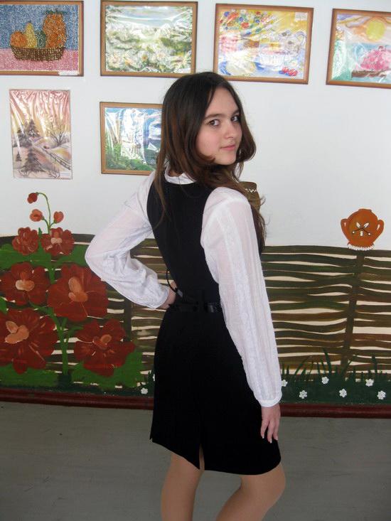 Школьный сарафан для подростков