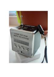 аккумуляторный FM приёмник+МР3