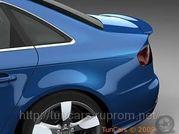Купить спойлер на багажник Audi A4