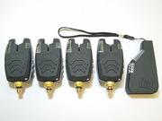 Сигнализаторы поклевки  FA210-4 - набор с беспроводным пейджером