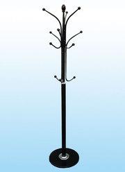 Напольная вешалка для верхней одежды (чёрная)