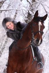 Волшебство под новый год! Подарочные сертификаты на конные прогулки!