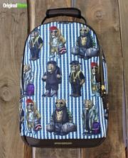 Дизайнерский рюкзак Sprayground Leopard Bears