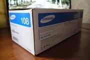Новый картридж Samsung MLT-D108S/SEE