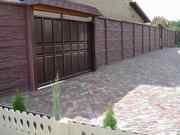 Еврозаборы,  ворота,  садово-парковая мебель,  плитка тротуарная