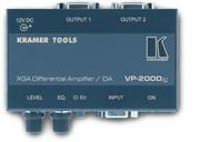 VP-200Dxl Усилитель-распределитель 1:2 VGA