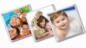 Сувенирные Магниты с вашим Фото или Дизайном от 1 экземпляра.