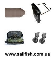 Аксессуары для надувных лодок,  транец навесной,  слань для лодки