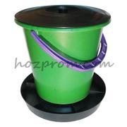 Кормушка бункерная 10 литров для домашней птицы оптом