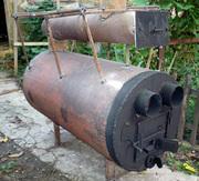 высокоэффективная печь для бани, дачи, дома, цеха