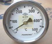 Термометр патронный t=500С D100мм