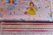 Детская постель полуторная из сатина,  Комплект Маленькая фея