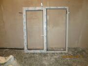 Продам б/у металлопластиковое окно VEKA фурнитура ROTО 1510 на 1550 для любой панельки