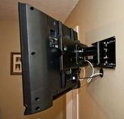 Настройка Вашего телевизора.установка кронштейна на стенку.
