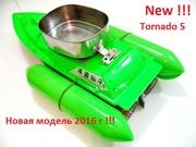 Fish Boat Mini, TORNADO-5  радиоуправляемая модель для карповой ловли,  для завоза приманки,  наживки,  прикормки.