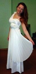 Выпускное платье в греческом стиле!
