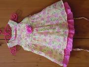 Платье на девочку. 18 мес