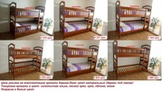 Двухъярусная кровать Карина-Люкс высокое качество Бесплатная доставка
