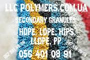 Вторичное полимерное сырьё: гранула ПНД,  ПВД,  ПП,  ПС для литья
