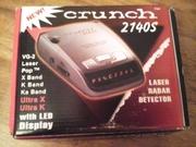 Лазерный радар детектор.Crunch 2140S.