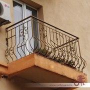 Балкон,  ограждение на балкон,  металлический балкон