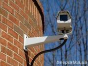 Установка видеонаблюдения,  сигнализации