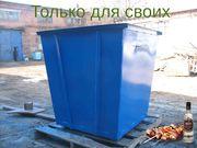Сделаем под заказ мусорный бак,  стандартный толщиной 1, 2 мм