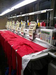 Вышивальная машина SWF (6 голов - 9 игл)