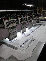 Вышивальная машина ZSK (4 голови - 11 игл)