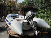 Продается комплект: лодка,  двигатель,  прицеп.