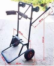 Универсальная тележка для тяжелых лодочных моторов