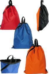 Необычные двухцветные городские рюкзаки на два отделения, водостойкие