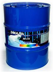 Атмосферостойкая Эмаль ПФ-115 50кг по ГОСТ 6465-76