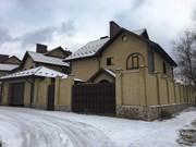 Красивый дом для семьи без внутренних работ.