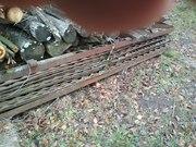 Секции забора 2, 5х2, 5м, комплект, штампованный металл толщиной 4мм: Довж