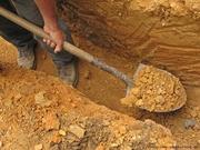 Копаем колодцы питьевой воды,  сливные ямы-канализационные септики