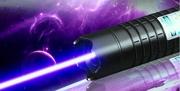 Синяя Лазерная указка 10000 mW+ 5 насадок Blue Laser