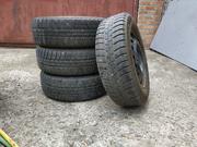 Продам четыре колеса Michelin Alpin 185 / 65 R 14,  4х100,  зима,