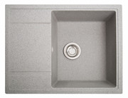 Кухонная мойка Оптима серый из камня